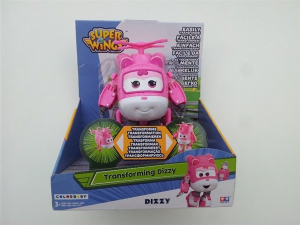 SUPER WINGS - DIZZY TRANSFORMABLE