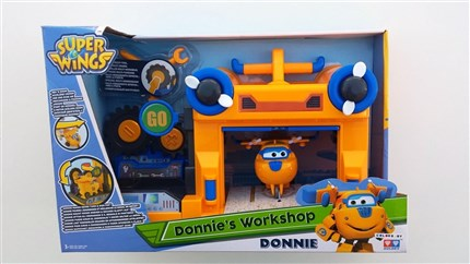 HANGAR DE SUPER WINGS DONNIE´S WORKSHOP