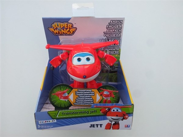 SUPER WINGS - JETT TRANSFORMABLE