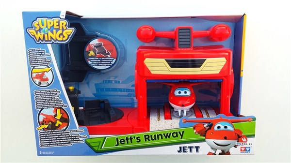 SUPER WINGS - PISTA JETT
