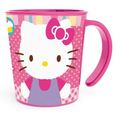VASO CON ASA HELLO KITTY 280ML