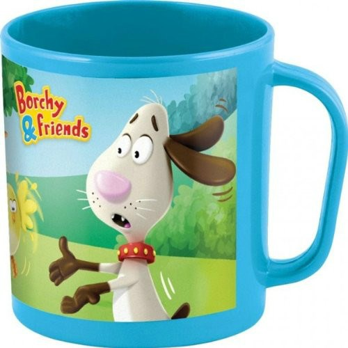 TAZA MICROONDAS BORCHY & FRIENDS 350 ML
