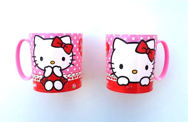 TAZA MICROONDAS HELLO KITTY 350 ML