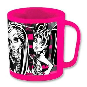 TAZA MICROONDAS MONSTER HIGH 350 ML