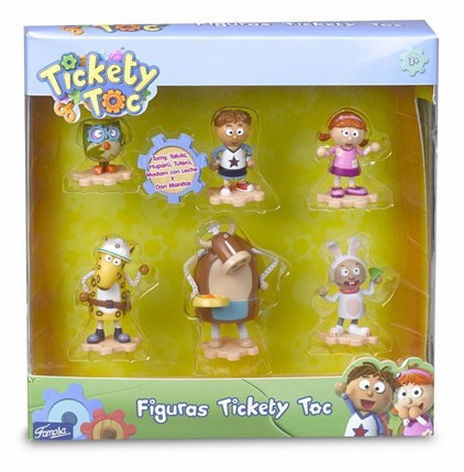 TICKETY TOC - BLISTER 6 FIGURAS