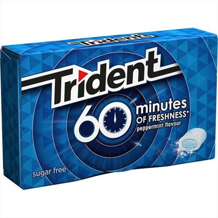 TRIDENT 60 MINUTES PEPPERMINT FLAVOUR