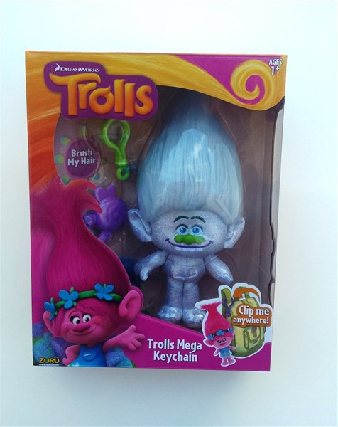 TROLLS - LLAVERO PELUCHE GUY DIAMOND