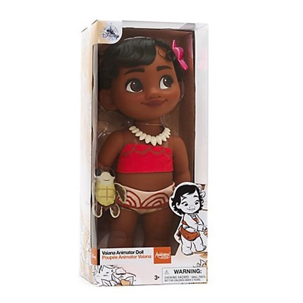MUÑECA VAIANA ANIMATORS COLLECTION
