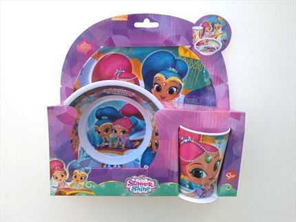 VAJILLA MELAMINA SHIMMER AND SHINE
