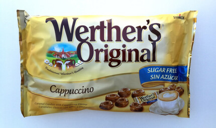 WERTHERS ORIGINAL CAPPUCCINO SIN AZUCAR