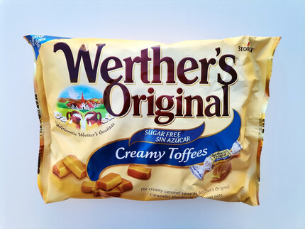 WERTHERS ORIGINAL CREAMY TOFFEES