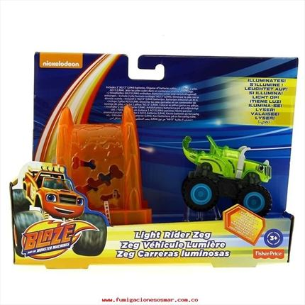 LIGHT RIDER ZEG - BLAZE AND THE MONSTER MACHINES